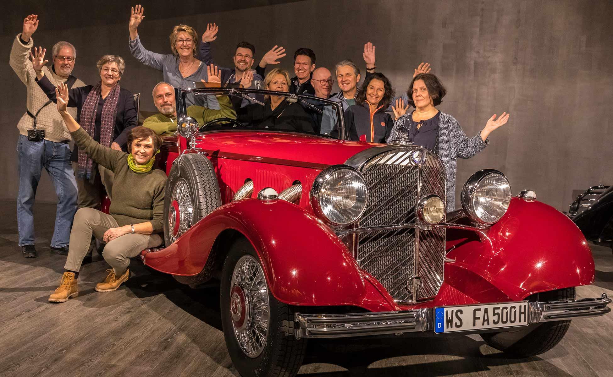 Gruppenfoto Fotogruppe Wasserburg